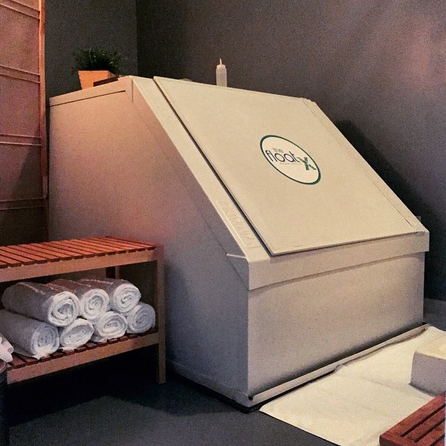 sensory deprivation float therapy