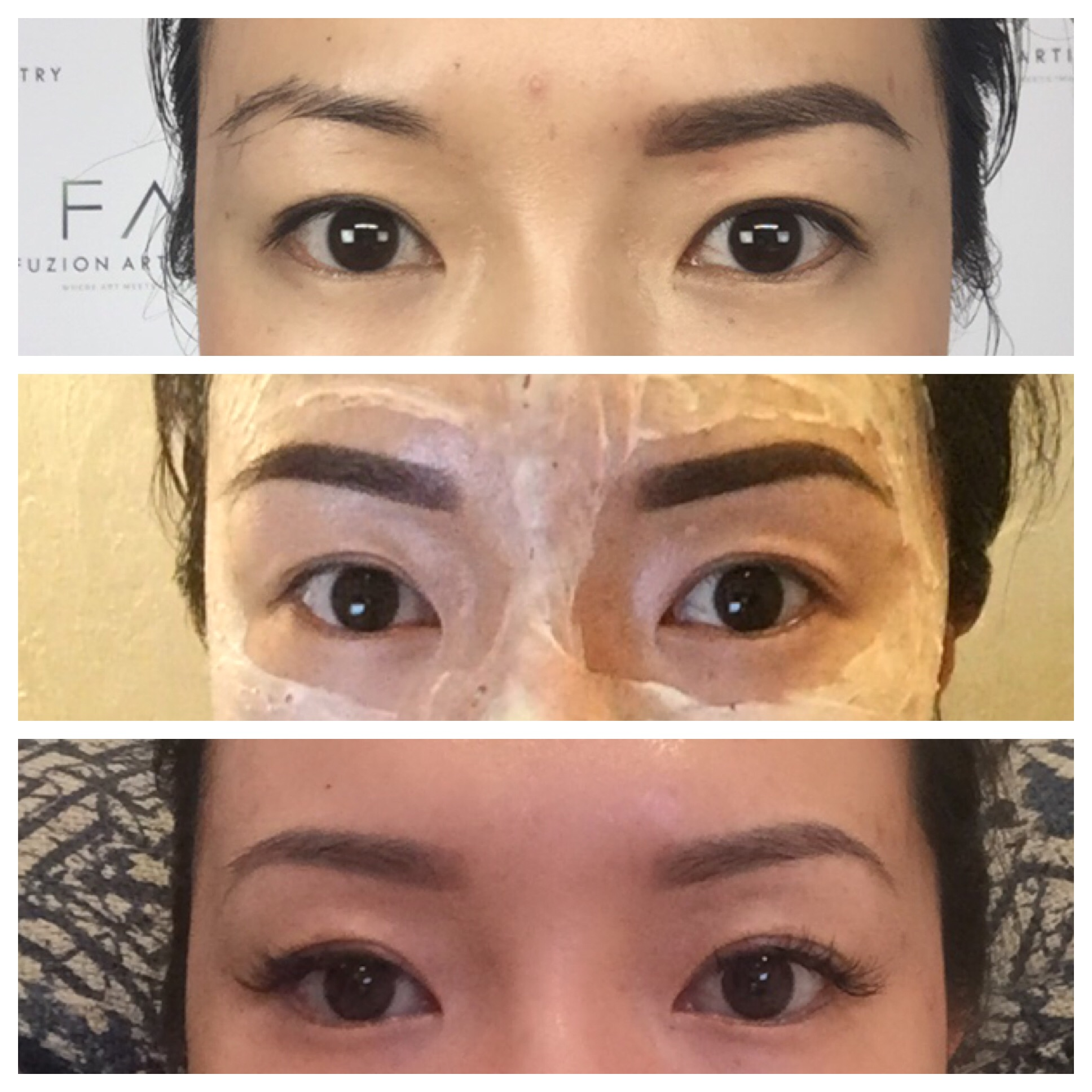 eyebrow tattoo cost prep procedure what you should know