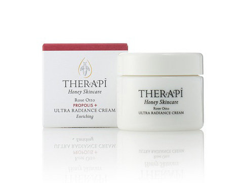 therapi honey skincare rose otto propolis