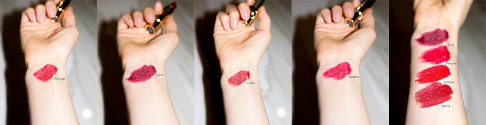 julie hewett lipsticks