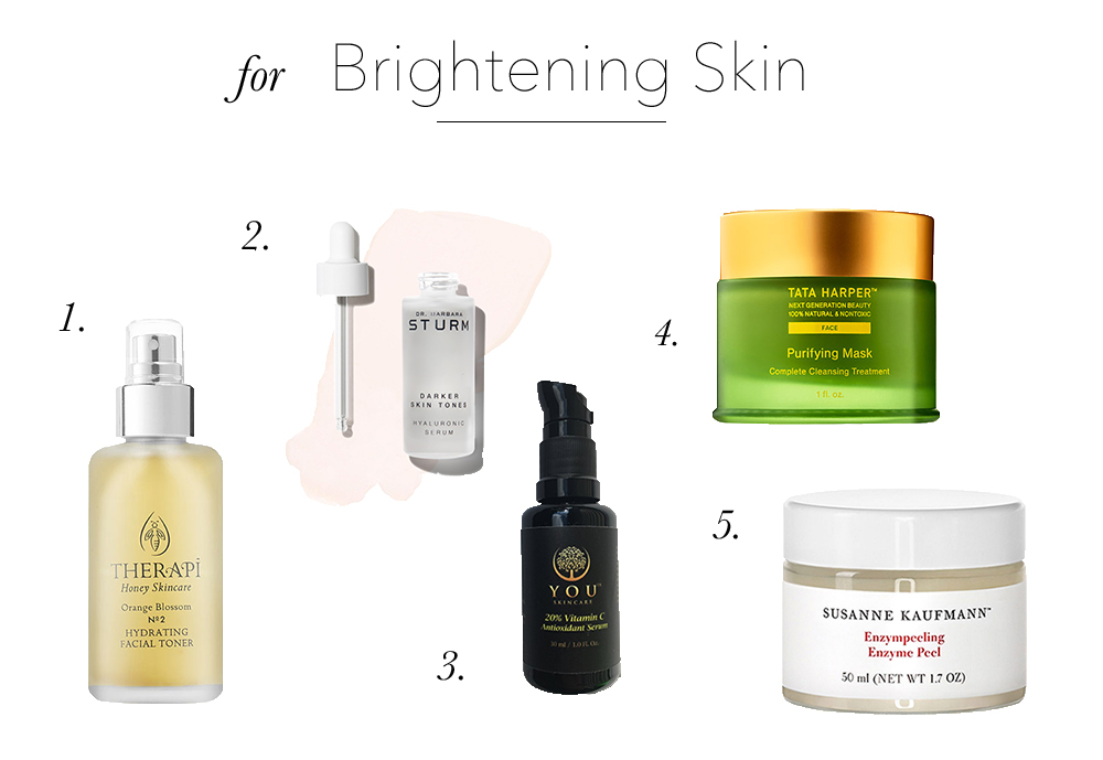 best of 2017 brightening skin products