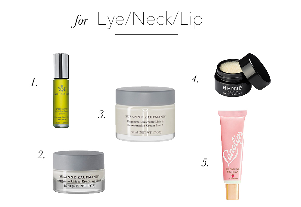 best of 2017 eye neck lip
